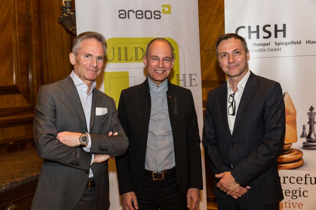 GF Schmied und GF Cwiertniowitz und Bertrand Piccard (@ Luef light)