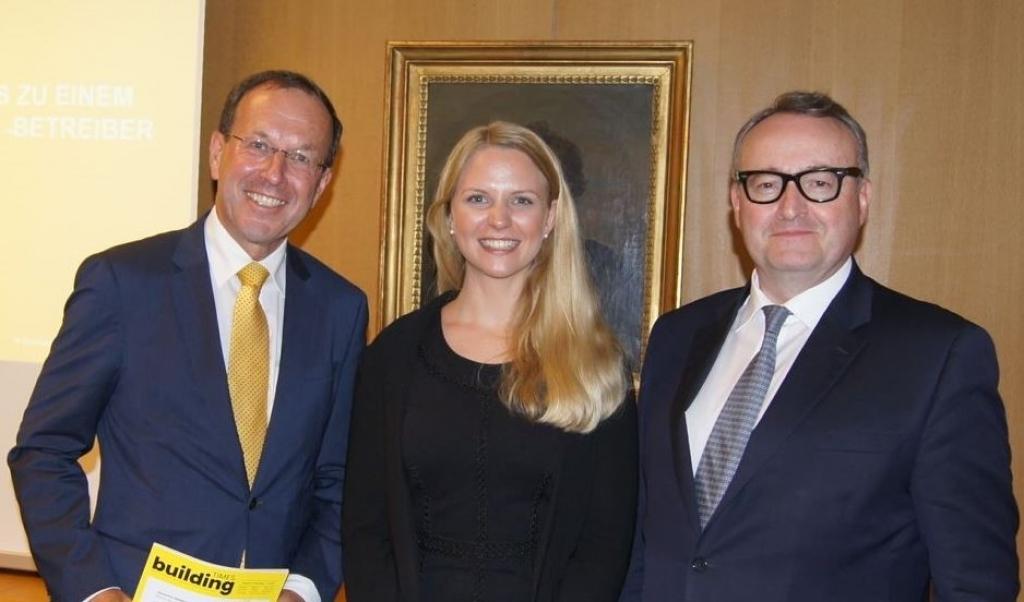 Wolfgang Gleissner, Iris Einwaller und Helmut Ofner