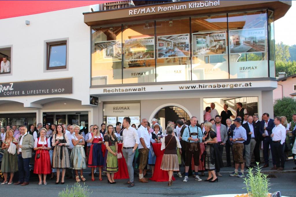 Eröffnungsfeier in Kitzbühel