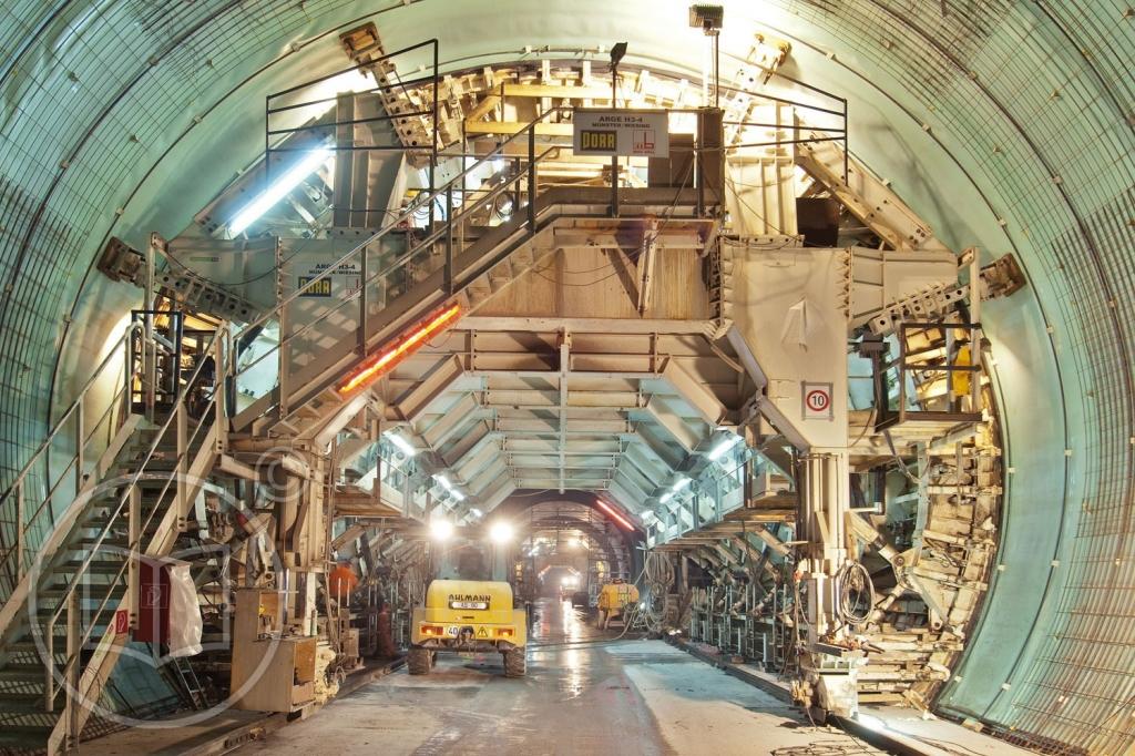 Tunnelbau der Porr