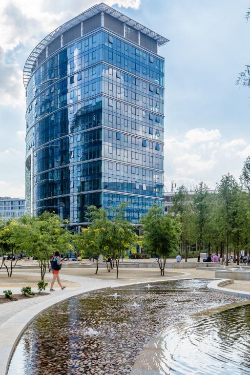 Gebäude C im Warsaw Spire Komplex