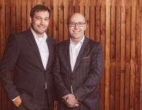 Stefan Theissl und Robert Fischer (v.l.n.r.)