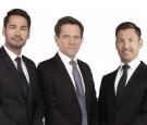 Neu gestartet: Alexander Fenzl, Felix Zekely und David Breitwieser (v.l.n.r)