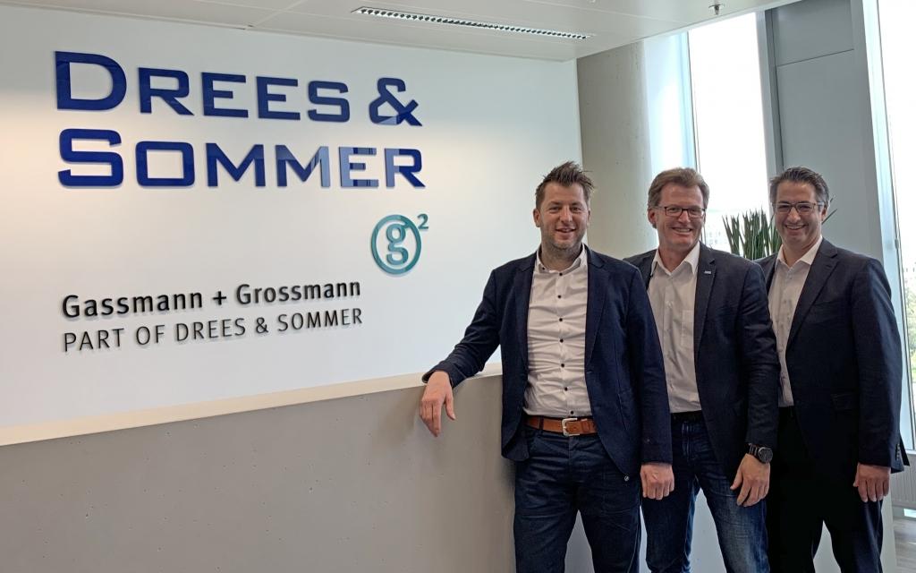Eduard Lugger, Marc Guido Höhne und Jürgen Brandstetter (v.l.n.r.)