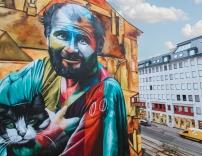 Das Calle Libre Festival macht Wiener Fassaden bunter
