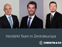 Neuzuwachs bei Christie & Co