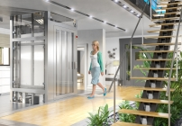 """DI Roman Teichert, Geschäftsführer Otis Österreich: """"Mit dem Gen2 Home ist uns eine optimale Verbindung der besten Eigenschaften des Aufzugs mit den notwendigen Anforderungen eines Privathaushalts gelungen."""""""