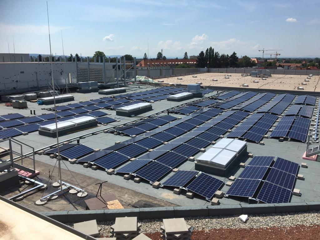 Photovoltaikanlage am Murpark