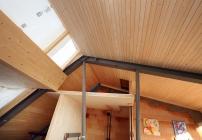 Holzdachausbau