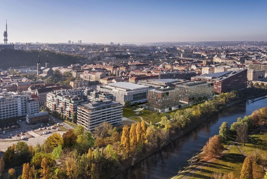 Die CA Immo vermietet 7.000 m² im Mississippi House in Prag