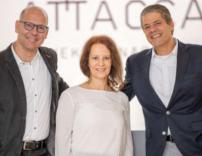 Neue Attaca-Geschäftsführung: Robert Buchner, Evelyn Glaser und Bernhard Holper (v.l.n.r.)