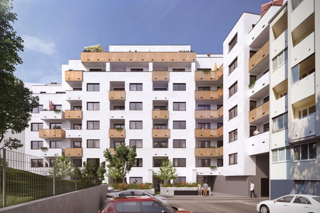 Projekt in der Breitenseer Straße