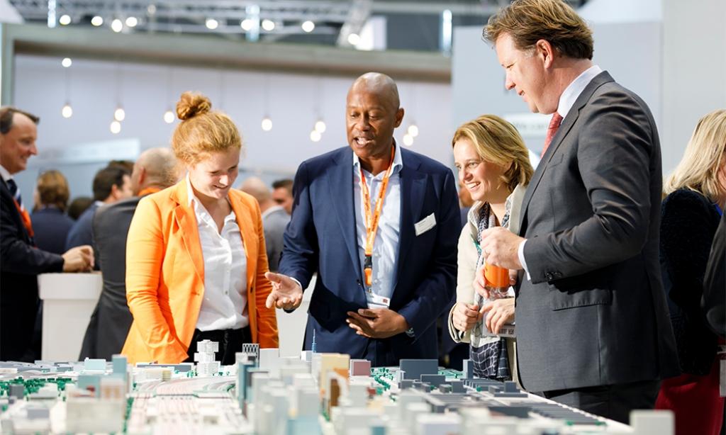 Hotspot der internationalen Immobilienwirtschaft: die EXPO REAL in München