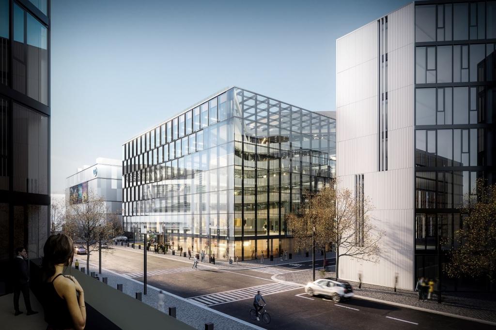Der Zalando Headquarter wird um ein drittes Objekt erweitert