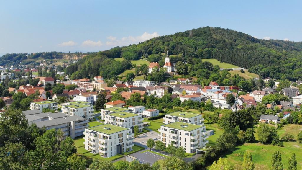 Das neue Projekt '186 Grad | Wohnensemble Graz Süd'