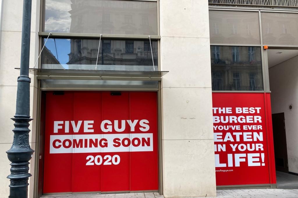 Five Guys eröffnet in Wien