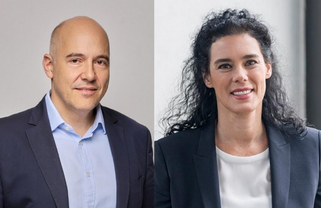 Neue Vorstände: Harald Schwarzmayr und Solveig Menard-Galli (v.l.n.r.)