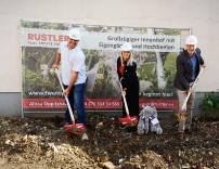 Spatenstich für Rustler-Projekt in Liesing