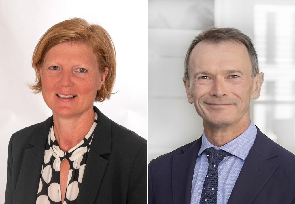 Kristina Gusner und Martin Hübl