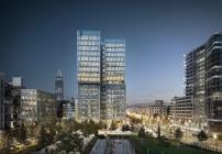 So wird der FAZ-Tower in zwei Jahren aussehen