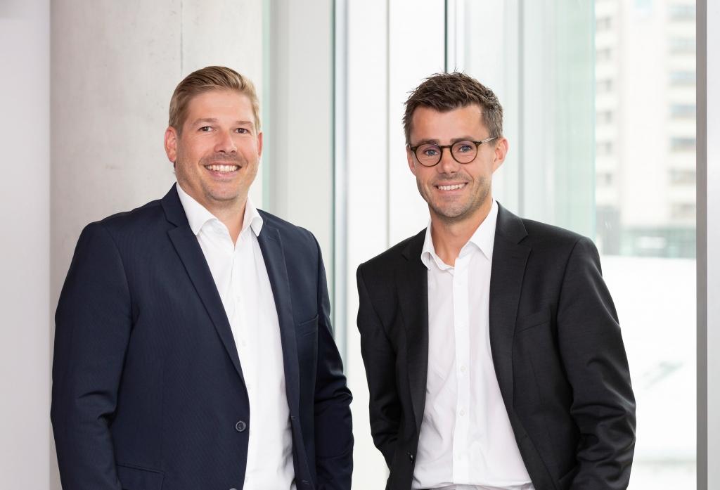 Josef Liegl und Christian Grottenthaler (v.l.n.r.)