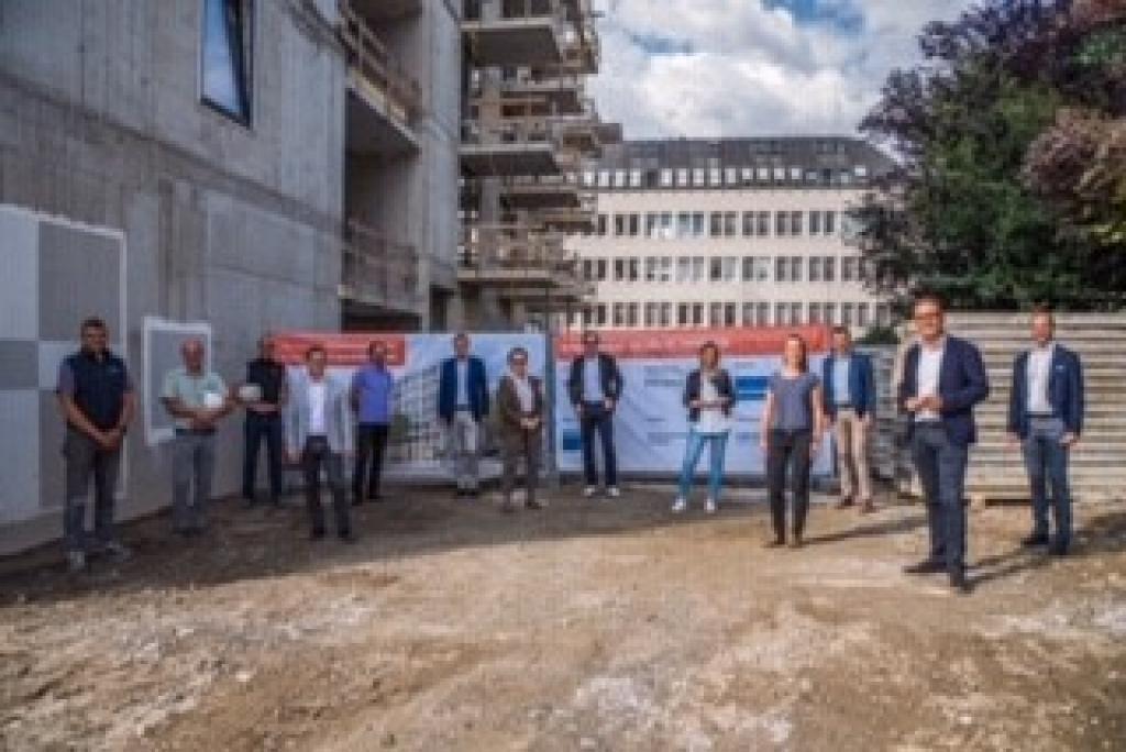 Firstfeier für das neue Stadthaus in Wilten