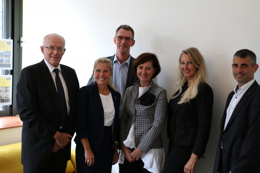Geschäftsstelleneröffnung in Baden