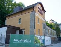 Die Jahnhalle in Feldkirch