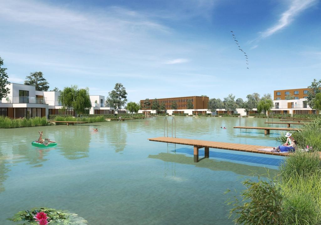 Der künstliche See