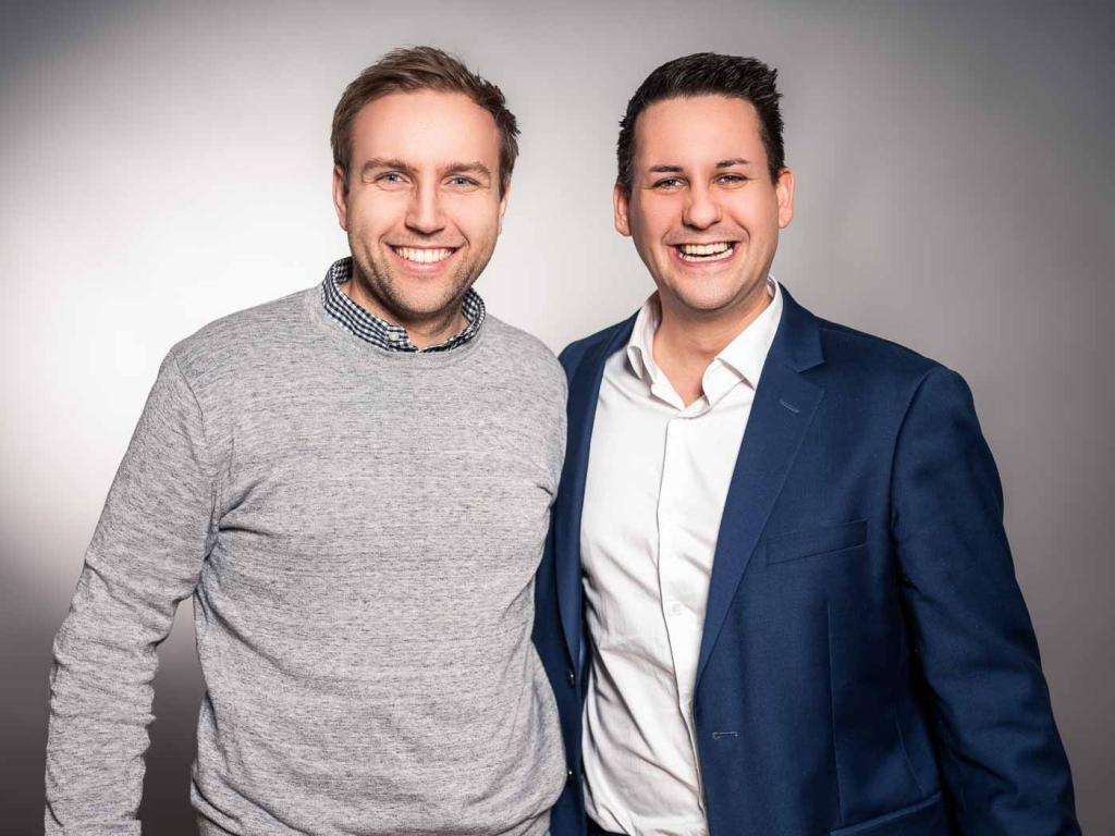 Daniel Kirchmayr und Joachim Klein