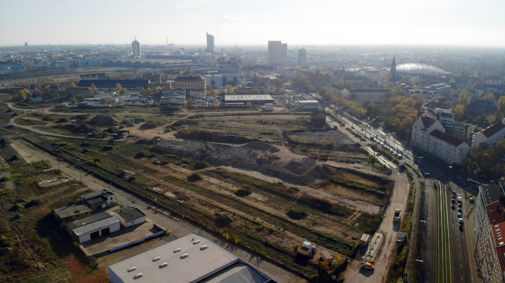 Das Entwicklungsgelände Eutritzscher Freiladebahnhof