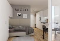 So werden die Micro-Apartments 2023 aussehen