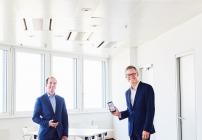 Peak Vienna Asset Manager Herwig Schweighofer und Drei CEO Jan Trionow