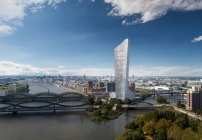 Der Elbtower, wie er 2025 aussehen wird