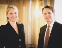 Alexandra Petermann und Stefan Hutter bilden das operative Vorstandsteam der WSG