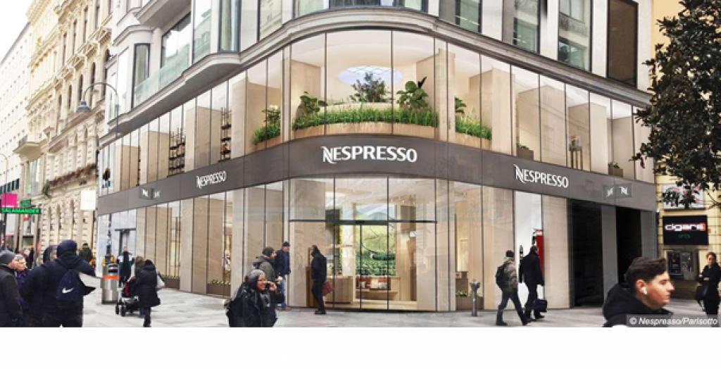 Der neue Nespresso-Flagshipstore
