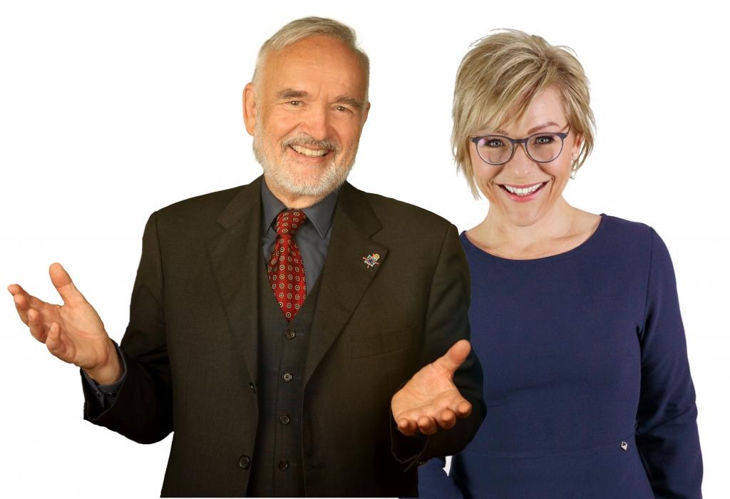 Peter Adler und Melanie Berger