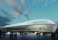 Die Raiffeisen Arena in Linz