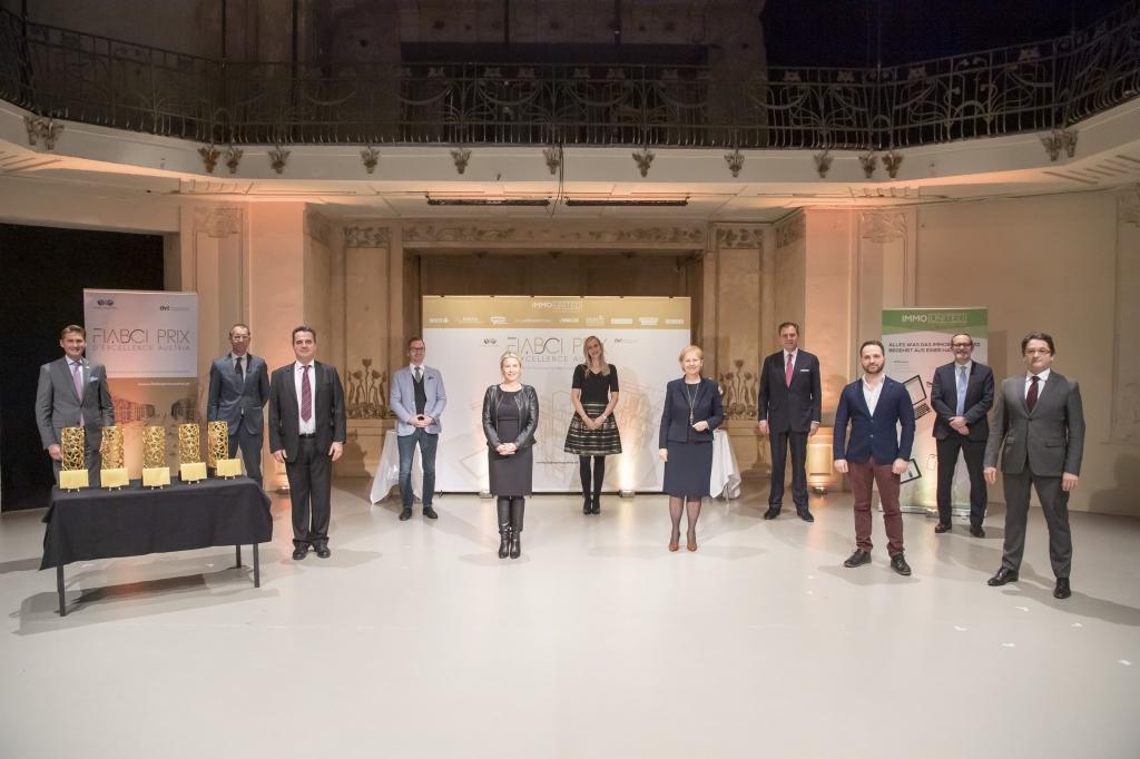 Die Online Preisverleihung des Fiabci Prix d'Excellence Austria