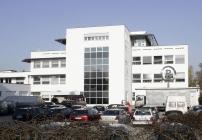 Die Firmenzentrale von Willy Bogner