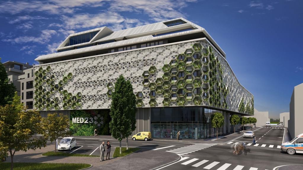 So soll das neue Gesundheitszentrum in Liesing aussehen