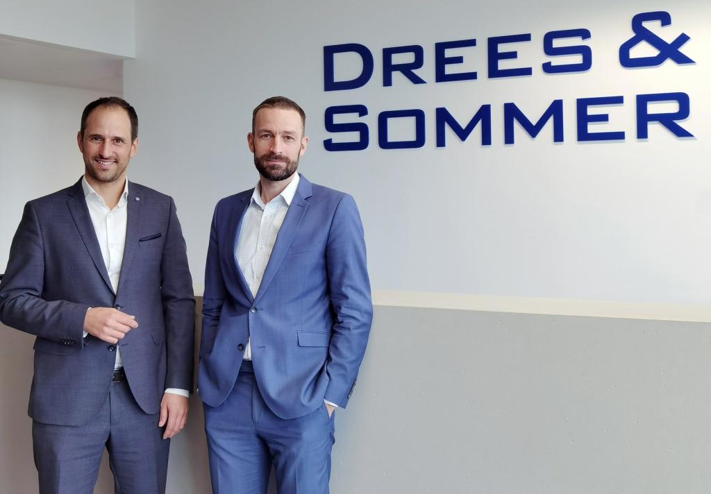 Neue Spitze bei Dreso Österreich: Georg Stadlhofer und Philipp Gansch (v.l.n.r.)