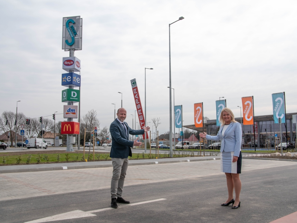 Eröffnung des S-Parks in Kaposvár