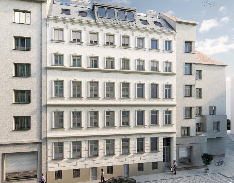 Die 3SI Immogroup revitalisiert ein Zinshaus auf der Wieden