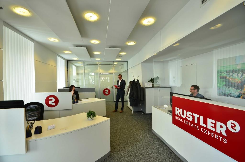 Der neue Rustler-Standort in Graz