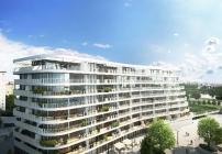 Der Bauteil 2 der Danubeflats