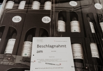 """Der Wein """"Schluck Impfung"""" ist beschlagnahmt worden"""