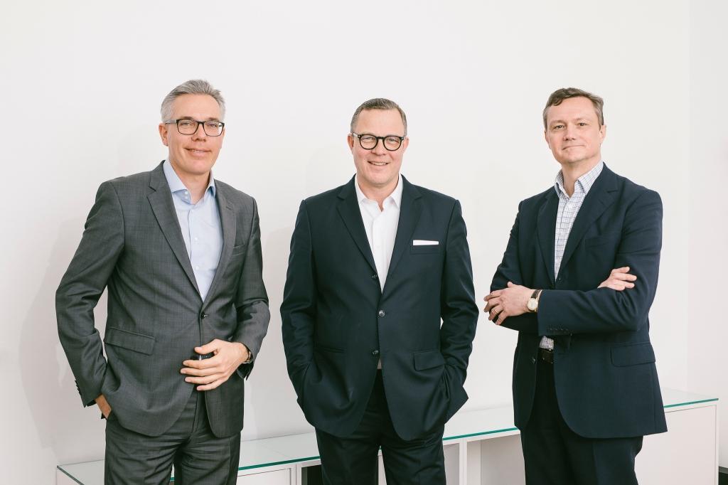 Reinhard Prüfert, Christian Schmück und Lukas Richter (v.l.n.r)