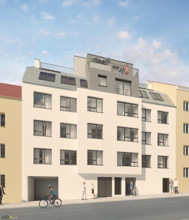 Das Wohnprojekt der VMF in Meidling