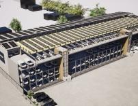 Das neue Parkhaus für Amazon